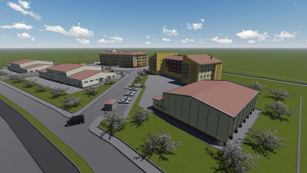 Bayburt Schools Workshops Dormitory Buildings Construction
