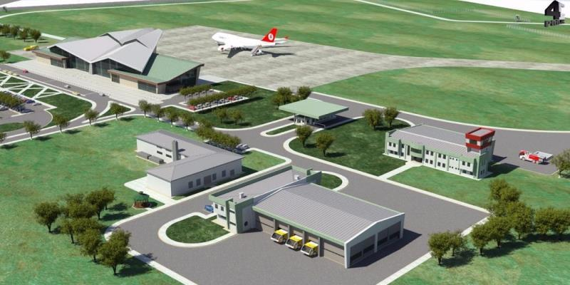 Balıkesir Airport Construction Suspended Ceiling Project
