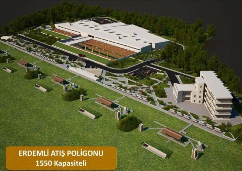 Mersin Shooting Range International Summer Olympics Project