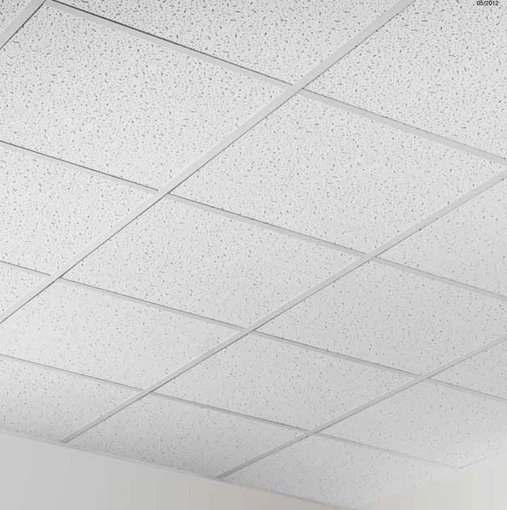 60x60 Rockwool Suspended Ceiling 12 mm Armstrong Bajkal