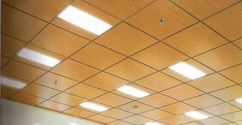Acoustic Wood Suspended Ceiling Systems