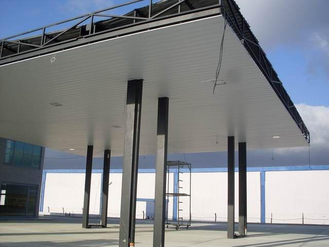 Panel 200 Suspended Ceiling Systems Canopy