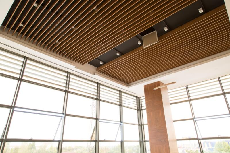 Aluminum Baffle Suspended Ceiling Systems
